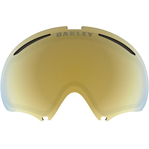 Oakley A-Frame 2.0 Men's Replacement Lens Snow Goggles Accessories - 24k Iridium/One Size - Oakley A-frame Replacement Lenses