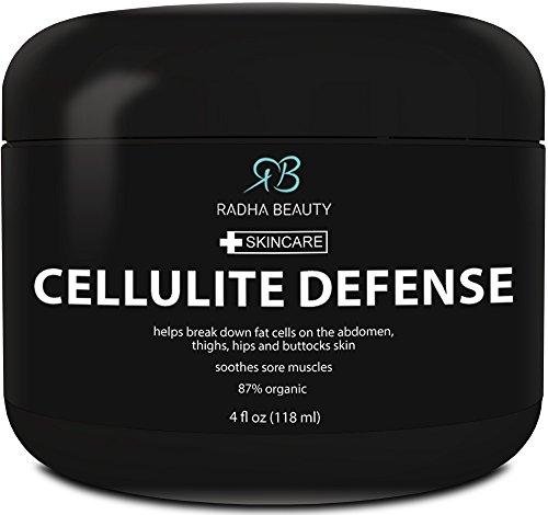 Cellulite crème 4 oz - meilleur anti-cellulite gel-crème, minceur et corps raffermissant gel avec Action thermogénique - excellent pour la Relaxation musculaire et Massage - contient tous les ingrédients naturels