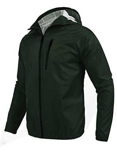 Nylon Hooded Coat - 1