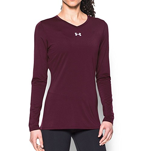 (Under Armour UA Power Alley Jersey LG Maroon)
