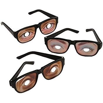 Funny Eyes Disguise Glasses (1 Dozen)