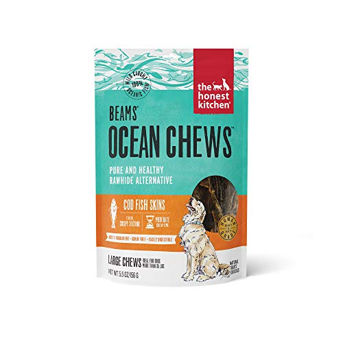 The Honest Kitchen 855089008757 Beams Ocean Chews for Dogs, 5.5 oz