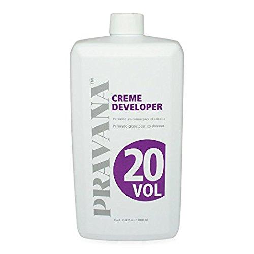 Pravana Creme Developers (20 Volume 33.8 fl oz) by Thorlight