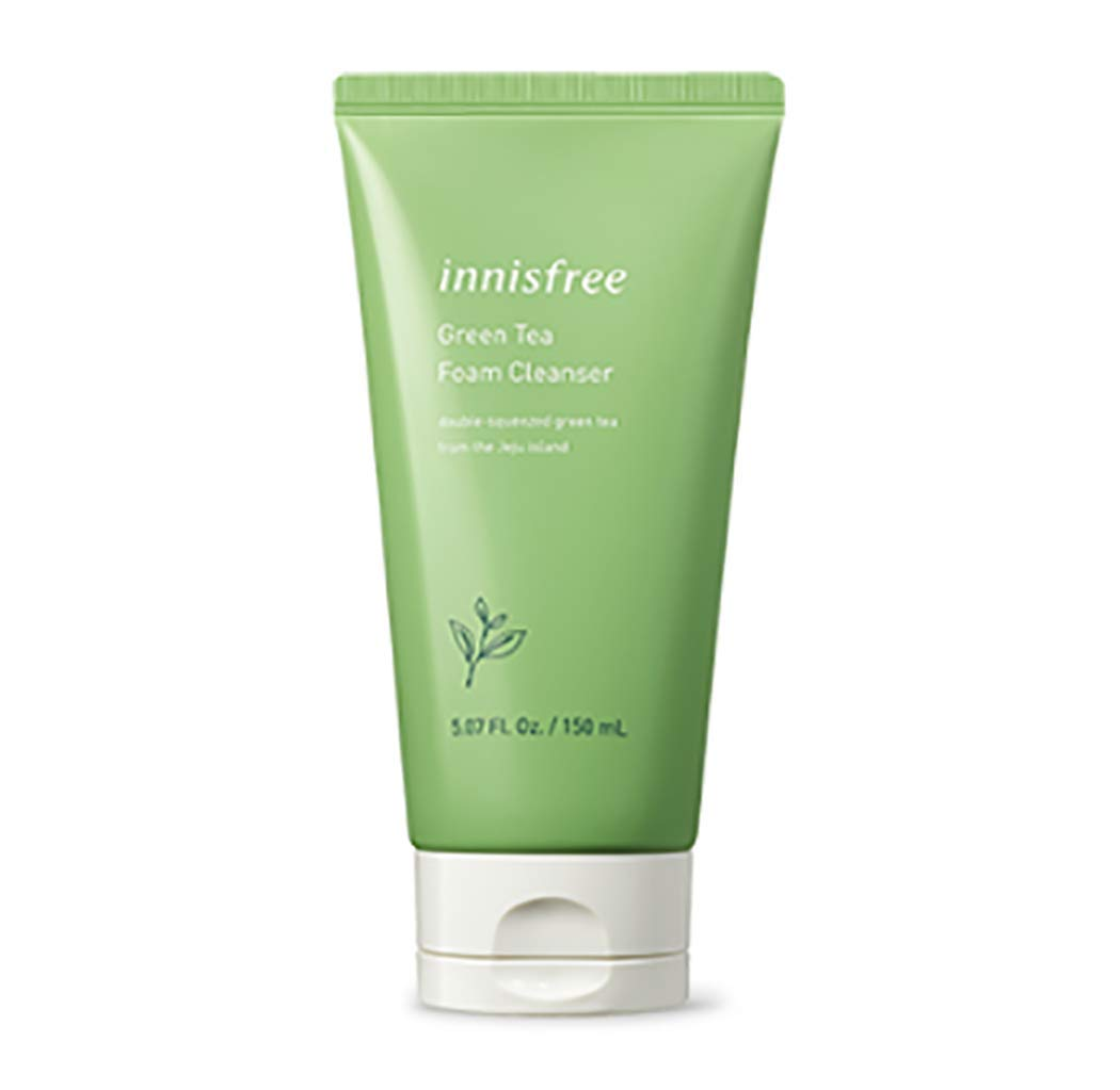 "[Innisfree] Green Tea Foam Cleanser 150ml "" 2018 New Product """