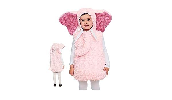 Disfraz Elefante Rosa Bebé - Animales Carnaval (3-4 años) (+ ...