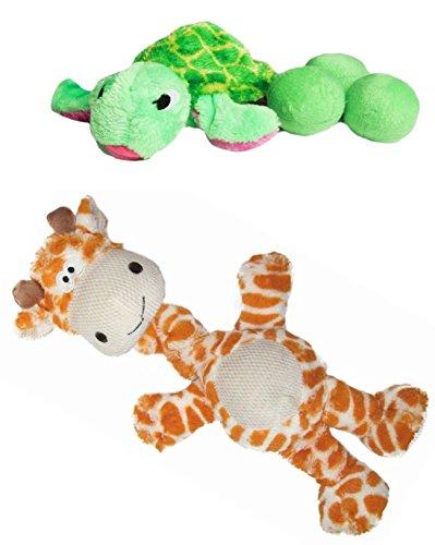 Outward Hound Egg Babies (Turtle and Bungee neck Giraffe)