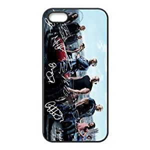 Autographs of Fast and Furious 6 main actors HD image printed custom designer Apple iphone 4 and 4s mobile phone case cover