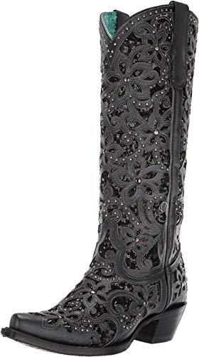 Corral Boots Women's A3589 Black 10 B US