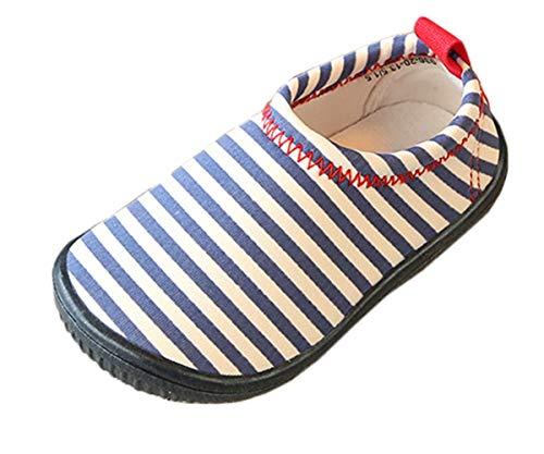 Rayures Bleu Insun Enfants Filles Unisex Pour Marche Enfant Garçons Respirant De Chaussons Chaussures Pq76PZ