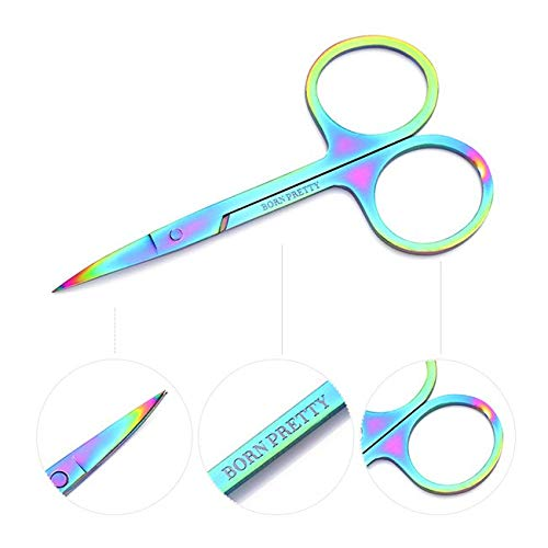Eye Makeup Dissolver Skin Care - head eyebrow manicure scissor cuticle tool