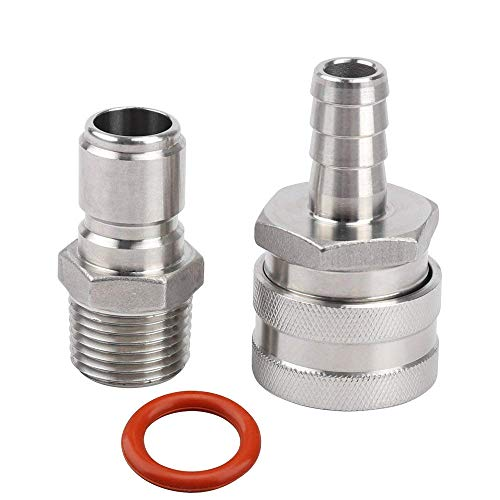 stainless steel quick disconnect set