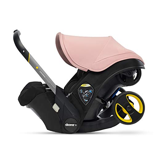 (Doona Infant Car Seat & Latch Base - Blush Pink - US Version)
