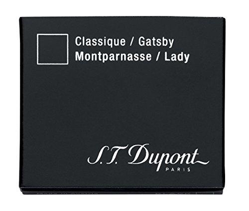 Dupont La Plume/S2 Ink Cartridges (Blue/Black) by S.T. Dupont