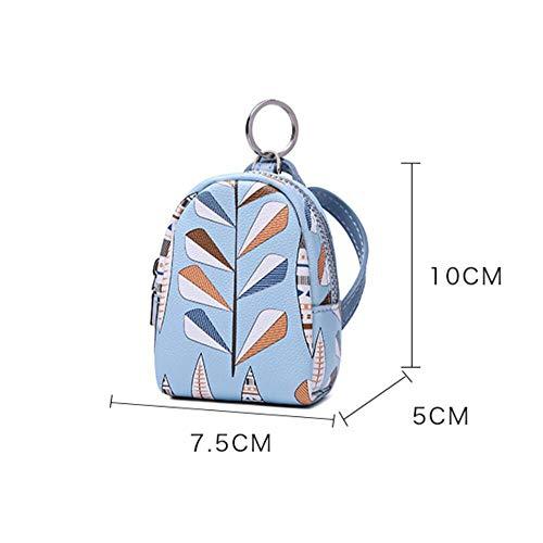 de Petit Mini 7 personnalisée 2018 Principaux pièce Fonctions Multiples Rose Poche Bleu Sac 5x5x10cm Les Leaf fpYYCwqW8