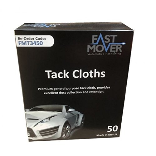 Rapide Mover outils 50/x Tack chiffons dans une bo/îte distributrice,