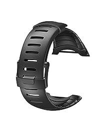Susenstone Luxury Rubber Watch Replacement Band Strap For SUUNTO CORE SS014993000