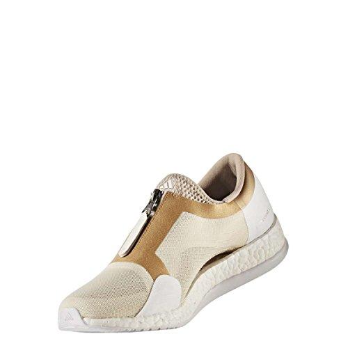 TR Mujer Pureboost para de Deporte Adidas Zip X Lino Ormetr Zapatillas Blanco Caqtra SEqxwnwd80