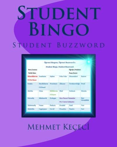 - Student Bingo: Student Buzzword (Turkish Edition)