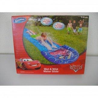 Cars Wet & Wild Water Slide - 15 Feet Long