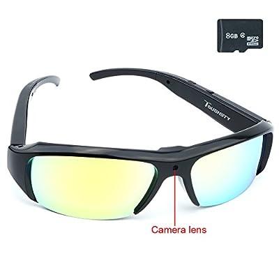 SpyGear-Toughsty™ 8GB 1920x1080P HD Hidden Camera Glasses Outdoor Sport Video Eyewear Mini DV Camcorder Support Audio Recording - Toughsty Technology (ShenZhen) Co.,Ltd