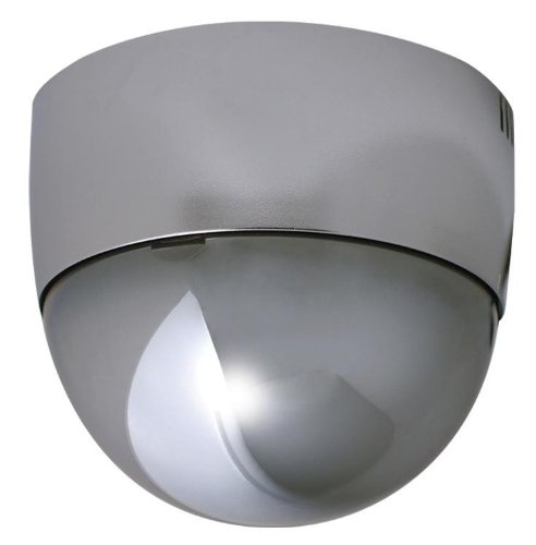 Speco Color Wall - SPECO CVCM6DC Mirror Finish Color Indoor Dome Camera, Wall/Ceiling Mount,