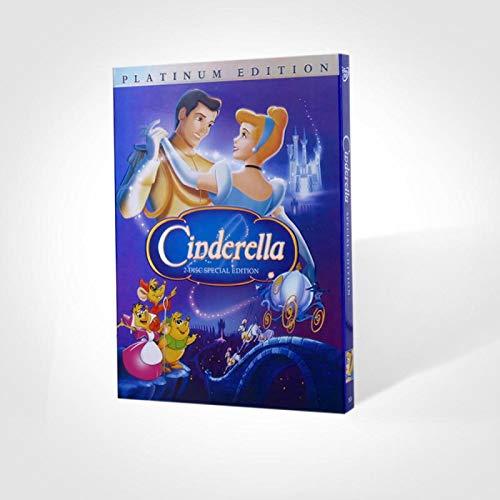 BestForYou Cinderella Movie DVD (2-Disc) Special Platinum English Edition by BestForYou