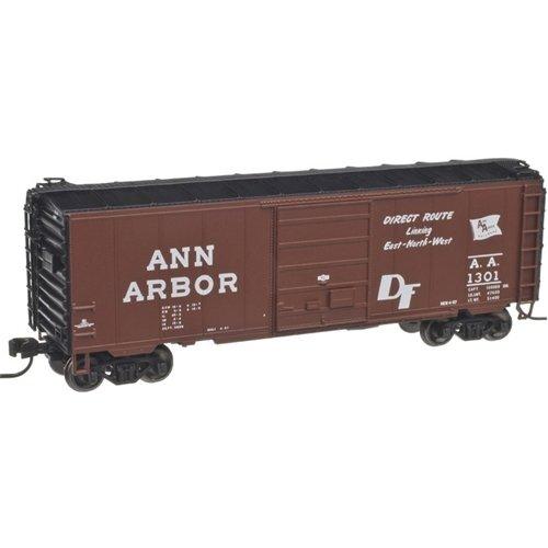 Atlas 50001758 N Ann Arbor PS-1 40' Boxcar w/ 8' Door, 12 Stiffener R