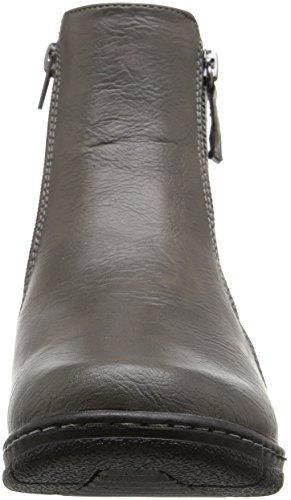 Beam Street Ankle Grey Bootie Easy Women's AETwqnZdZ