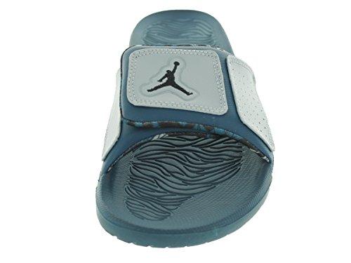 Nike Jordan Mens Jordan Hydro 3 Blu Spazio / Nero / Grigio Lupo Sandalo 8 Uomini Us