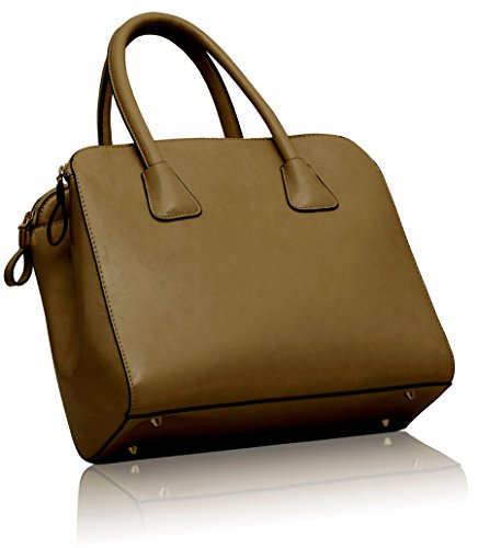 Womens Style Beige Croc Ladies Bags Handbags Faux 2 Tote Shoulder Design New Designer Leather raxRwrq10