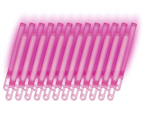 RiverRoots Light Sticks, Pink, 7.5In, 8 Hour Duration (25 Pcs)