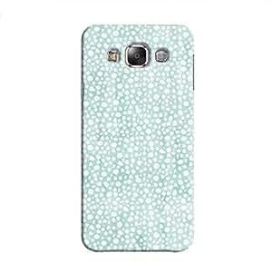Cover It Up - Blue Pebbles Mosaic Galaxy E7 Hard Case