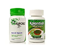 Alipotec Capsules Raiz de Tejocote Root 90 Day Supply and 30 Day Moringa Potassium Supplement 2 Product Pack