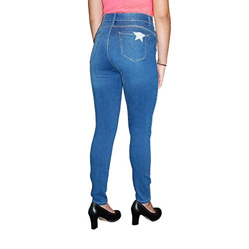 Slim Blu Stooker Denim Donna Jeans RvqxxwYU