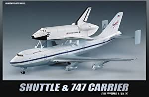 Amazon.com: SINNAYEO Academy 1/288 Plastic Model Kit Space Shuttle & NASA Transport 12708 Nib ...