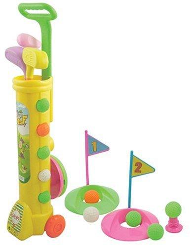LONGRIDGE Junior - Set de plástico con Trolley de Golf