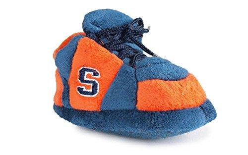 SYR03PR - Syracuse Orange NCAA Happy Feet Baby Slippers