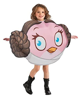 Princess Leia Angry Birds Girls Costume