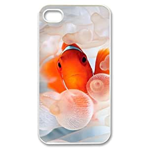 Hard Shell Case Of Clown Fish Customized Bumper Plastic case For Iphone 4/4s