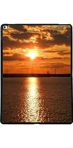 Funda para Apple Ipad Pro 13 pulgadas - Vacaciones En La Playa Puesta De Sol by WonderfulDreamPicture