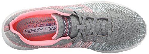 Skechers Skechers BURST 12437CCPK, Damen Sneaker Gray/Pink