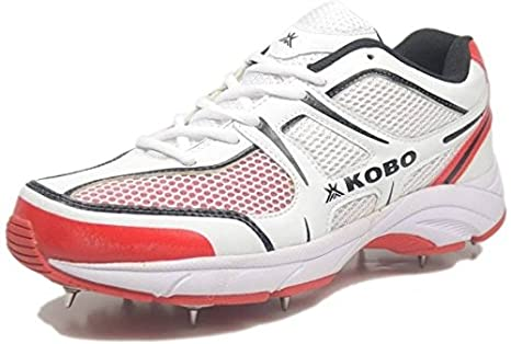 02e07555a22dee Buy KOBO Cricket Shoes Full Spikes Half Spikes Convertible for ...