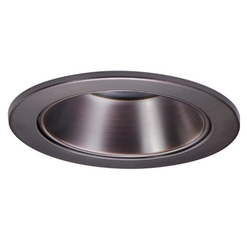 HALO Recessed 1421TBZ 4-Inch Trim with Reflector, Tuscan Bronze
