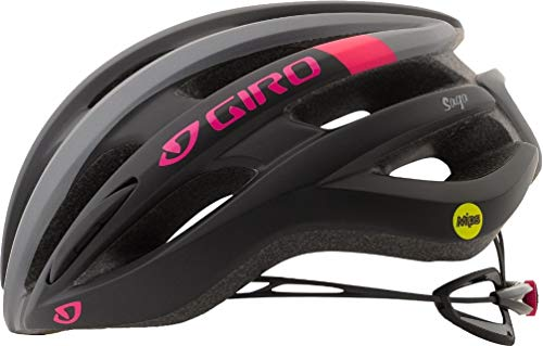Giro Saga MIPS Cycling Helmet - Women's Matte Black/Pink Race Medium ()