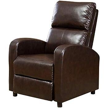 Amazon Com Bonzy Recliner Chair Overstuffed Backrest