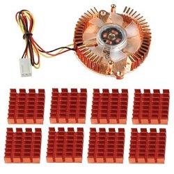 EVERCOOL VC-RF Cyclone - Ventilador para Caja de Ordenador: Amazon ...