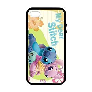 Lilo And Stitch Lying Case for iPhone 5 5s case