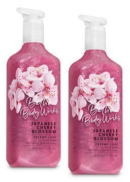 - Bath and Body Works 2 Pack Japanese Cherry Blossom Creamy Luxe Hand Soap. 8 Oz.