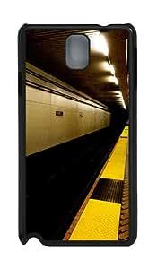 Subway Station Custom Samsung Galaxy Note 3 N9000 Case Cover ¨C Polycarbonate ¨CBlack