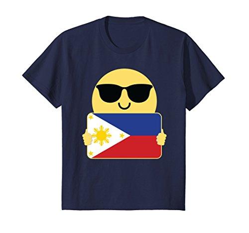 Kids Philippines Shirt Sunglasses T-Shirt Tee 6 - Philippines Sunglasses